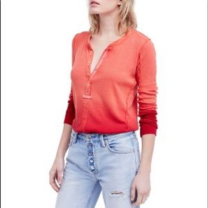 Free People Tops - Free people cozy up Henley